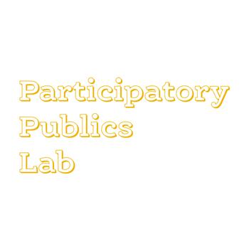 """<a href=""""http://participatorypublicslab.net"""">Participatory Publics Lab</a>"""